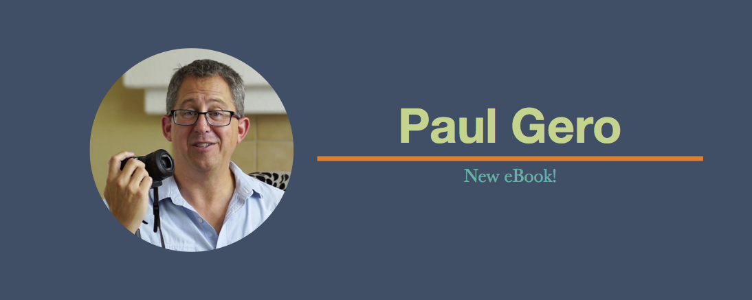 Upcoming Launch: Paul Gero's new eBook