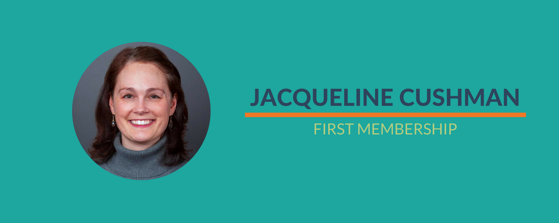 Jacqueline's First Paid Member