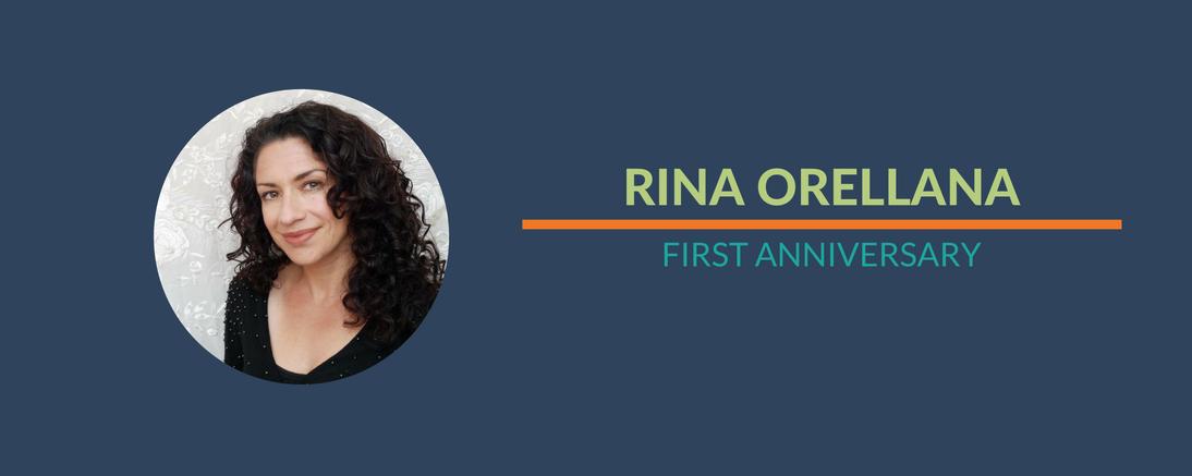 Happy Anniversary, Rina!