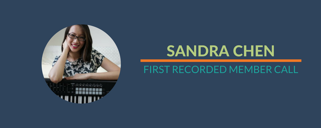 Success Story: Sandra's First Recorded Member Call