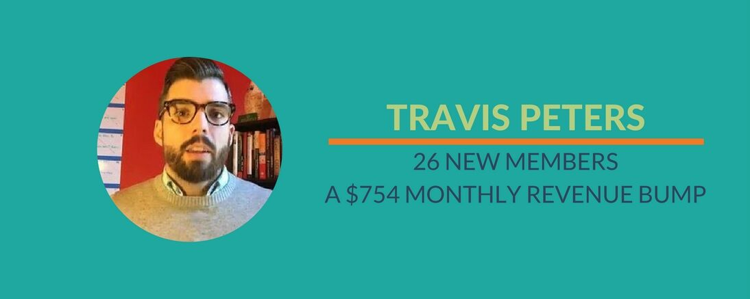 26 new members, a $754 monthly revenue bump (And HOW I did it)