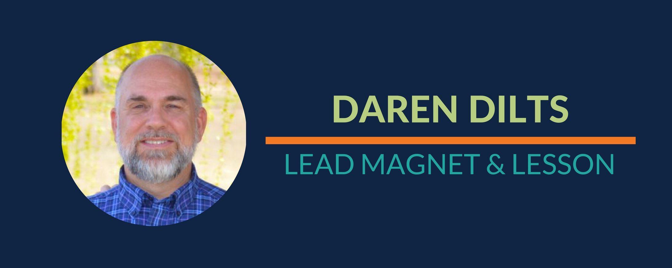 Big Steps: New Lead Magnet & Lesson