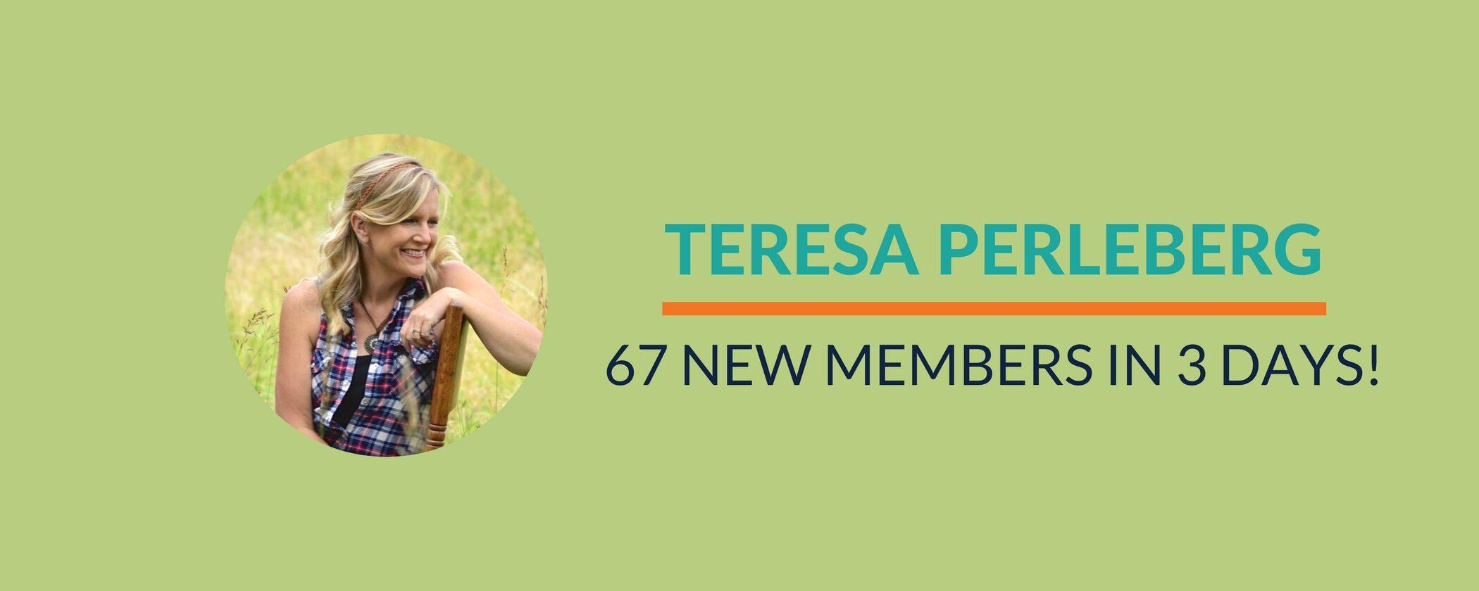 Success Story: Raised membership price AND made 67 new members