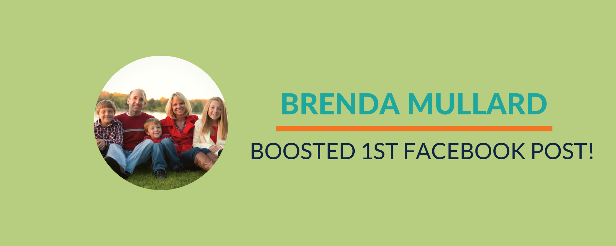 Success Story: Brenda rocks her first Facebook post