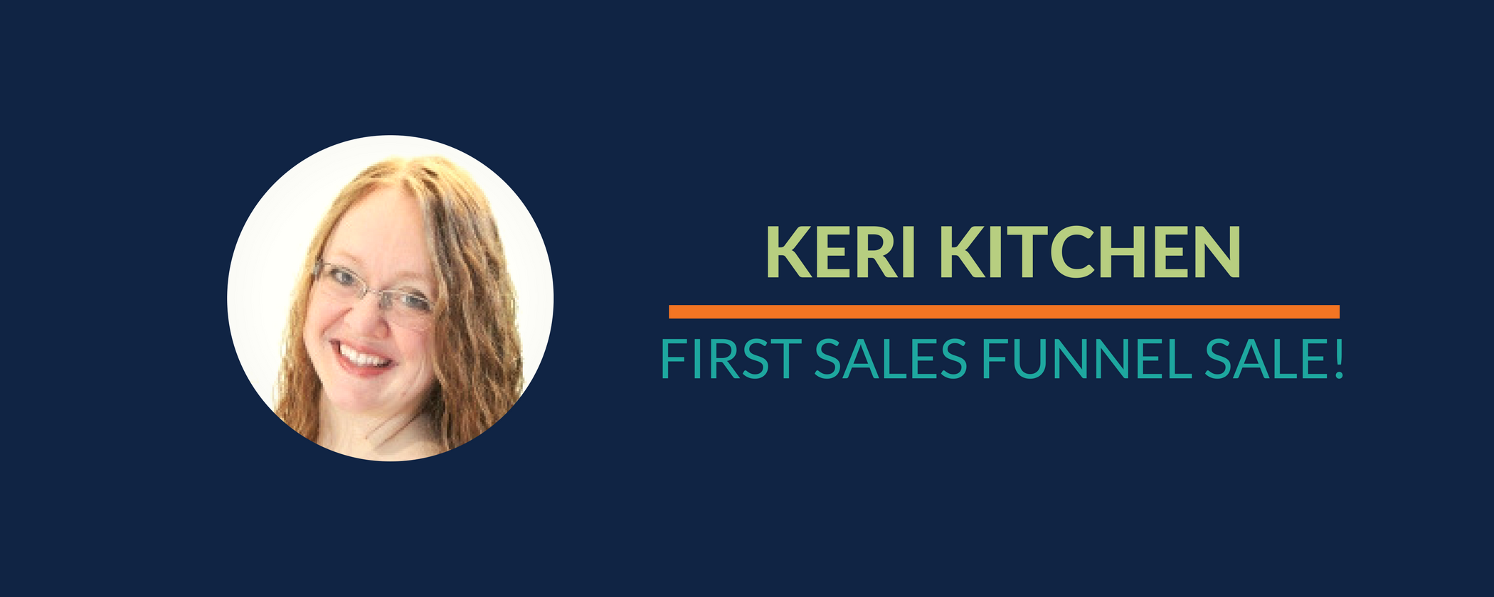 Success Story: Keri gets a sale using her sales funnel