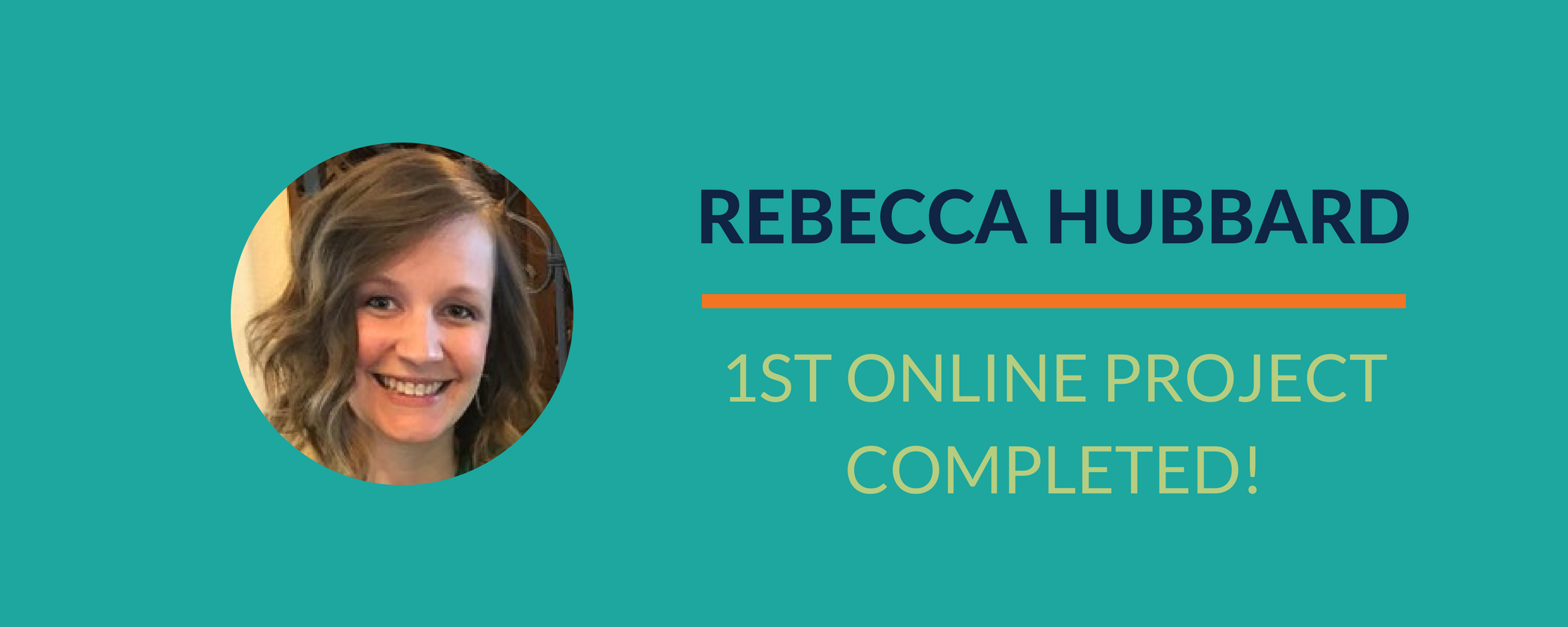 Success Story: Rebecca completes a goal and puts something for sale online!