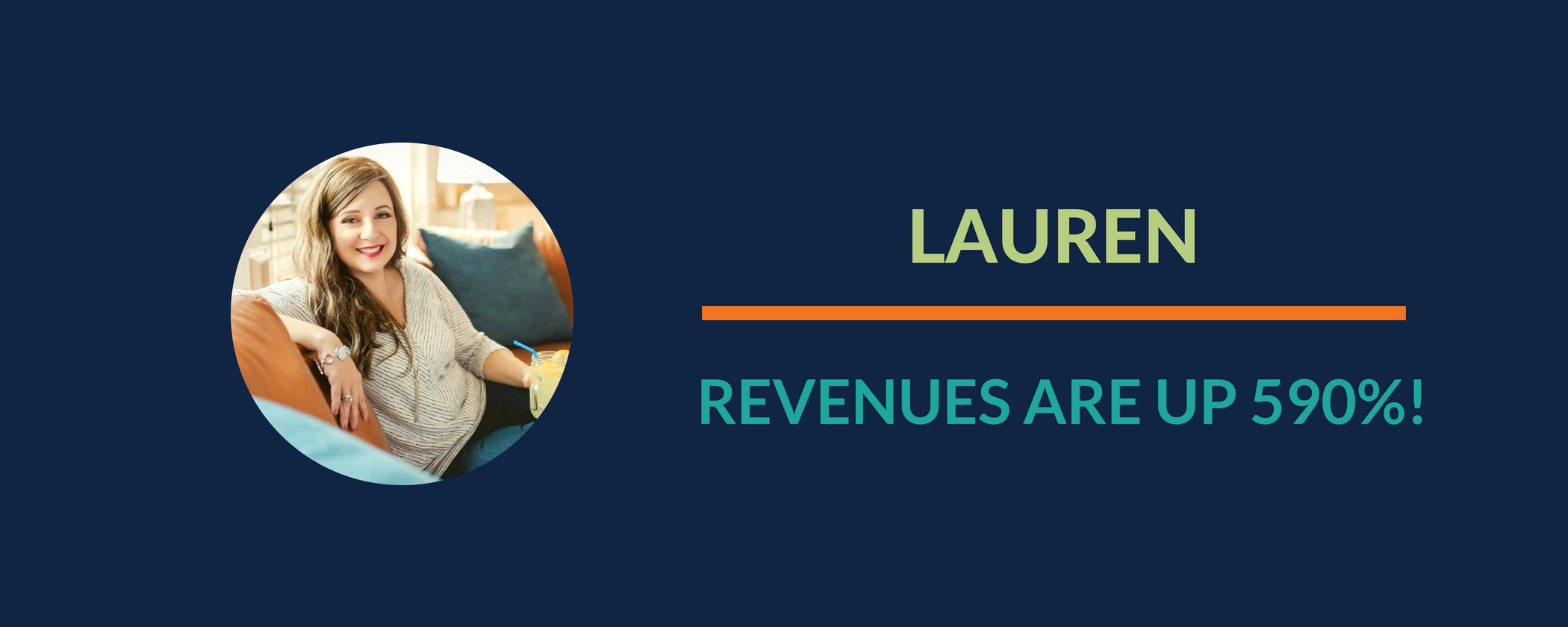 Success Story: Lauren's throwback success from when she first started her online business journey!