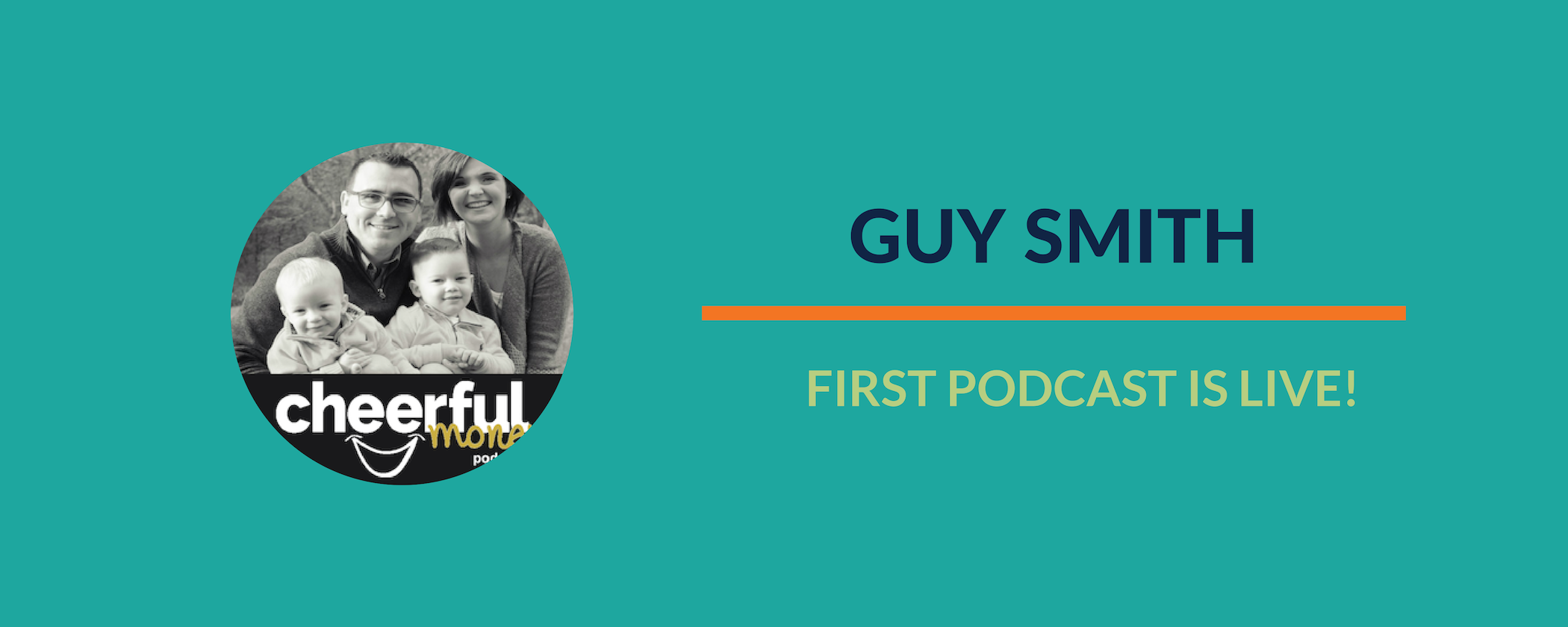 Success Story:  Congratulations to Guy on launching his first podcast episode!